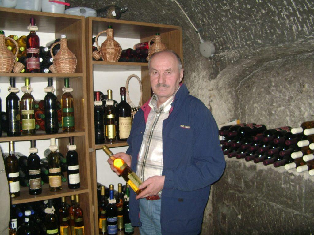 Токайские вина в погребах