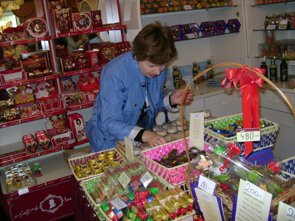 Магазин марципана в Будапеште