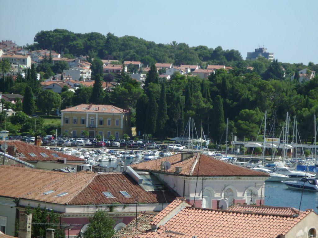 Панорама города с колокольни