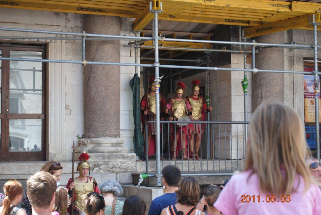 Публика на фестивале в Сплите