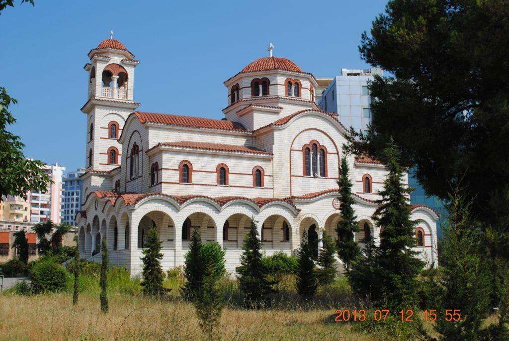 Восстановленная христианская церковь в Дурресе