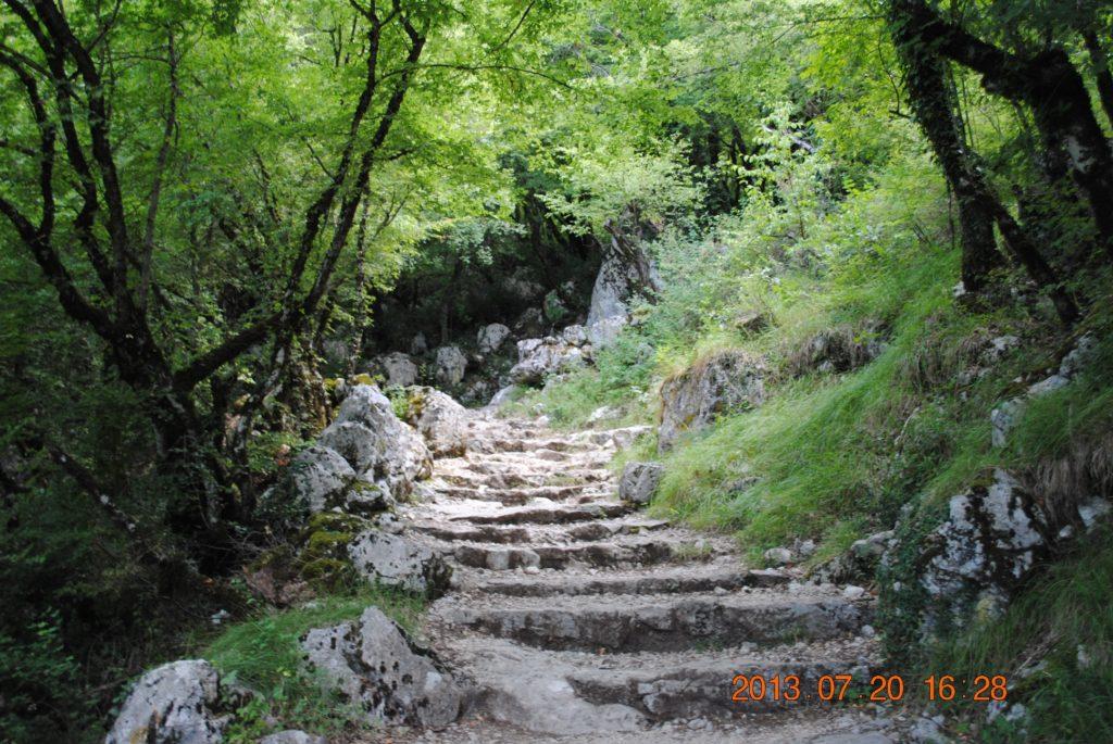 Дорога к Святому Василию