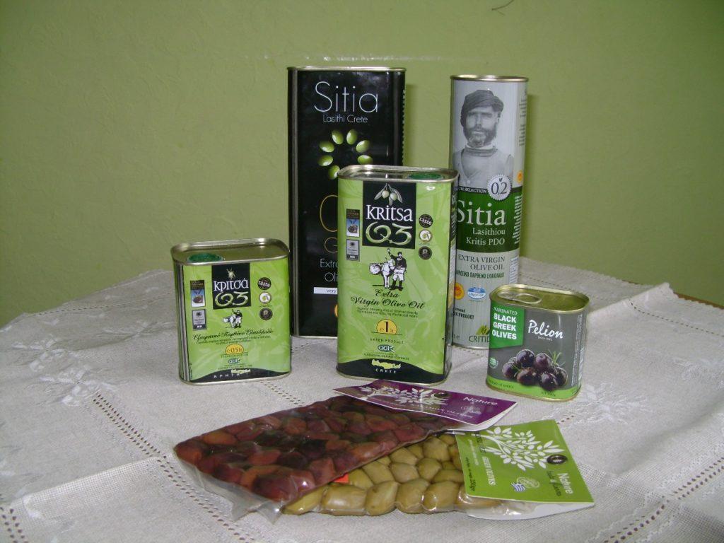 Самые лучшие марки оливкового масла на Крите - Сития и Критца