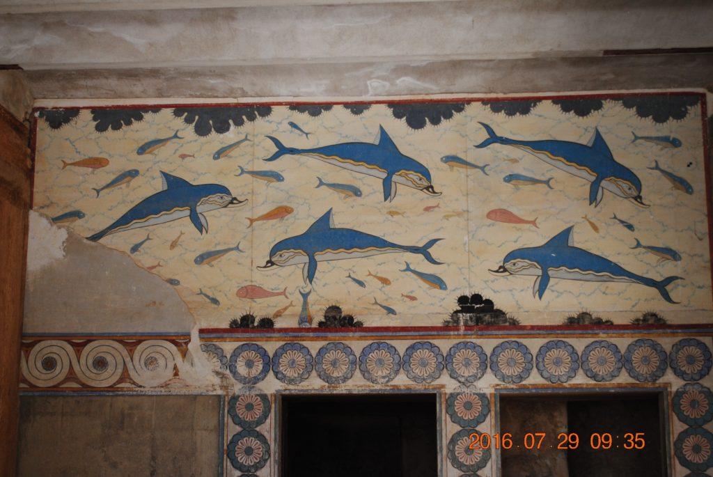 Минойцы любили море и дельфинов